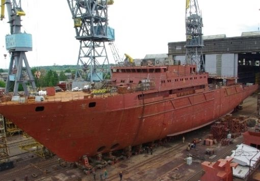 yantar-shipyard-launches-project-22010-all-round-oceanographic-ship