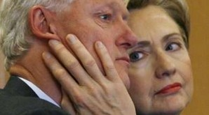 Hilary et Bill Clinton