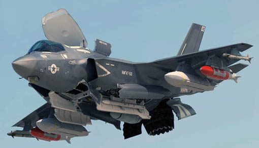 f-35b charges